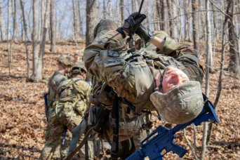 3rd ROTC Brigade cadets compete at Black Hawk Ranger Challenge
