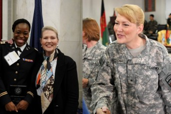Army female leaders of past and present stress importance of mentorship