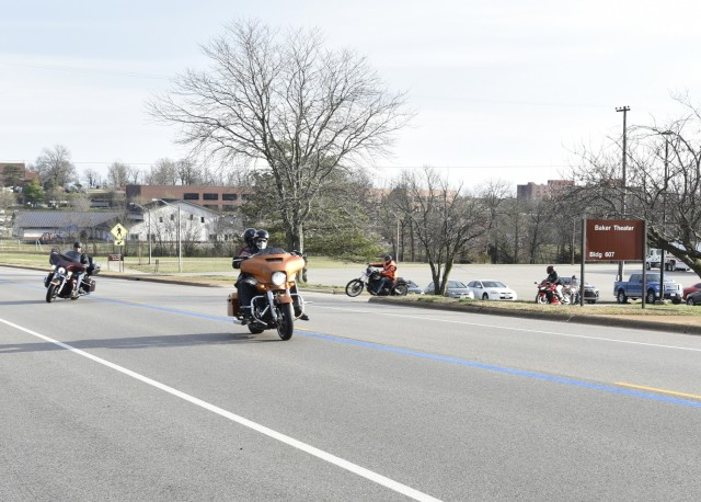 Fort Leonard Wood mentorship ride events highlight motorcycle safety
