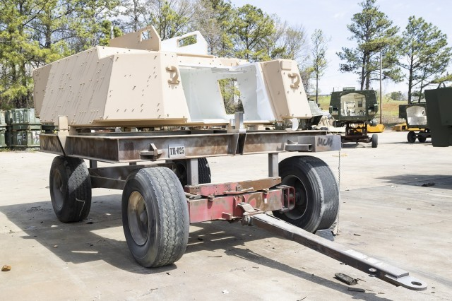 Anniston Army Depot recently completed modification of two cabs for the extended range cannon artillery project. The cabs modified at ANAD will be used in final testing of the ERCA system.