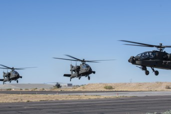 US/International Pilots and Maintainers learn newest version of AH-64 Apache Aircraft