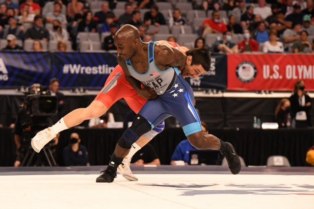 Army victorious at Wrestling Olympic Trials, two more Soldier-athletes headed to Summer Games