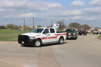 Easter Bunny 'honks' through Fort Hood during parade