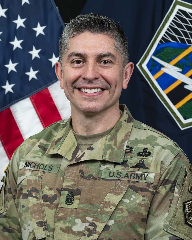Command Sgt. Maj. Jack Nichols