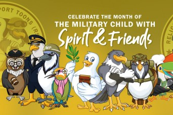 The U.S. Army Chaplain Corps celebrates the Month of the Military Child with Spirit & Friends