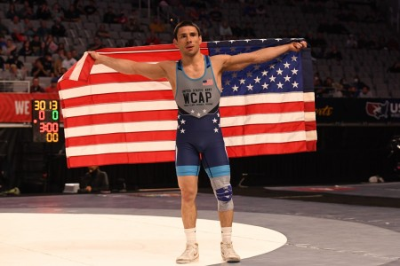 Sgt. Ildar Hafizov earned his spot on the U.S. Olympic Wrestling Team in the men's Greco-Roman 60kg weight class at the 2021 U.S. Wrestling Olympic Trials, April 2-3, in Fort Worth, Texas. Hafizov defeated fellow World Class Athlete Program teammate Sgt. Ryan Mango in the finals. WCAP now has eight Soldier-athletes representing the Army at the Summer Olympic Games this July.
