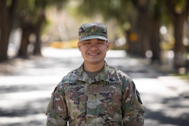 2nd Lt. Hoang Vo Anh Tran has been serving as a Gold Bar Recruiter in the UC Davis ROTC program, the same program he commissioned from. He said his time there as a Cadet is part of what inspired him to take up the role of a Gold Bar Recruiter.