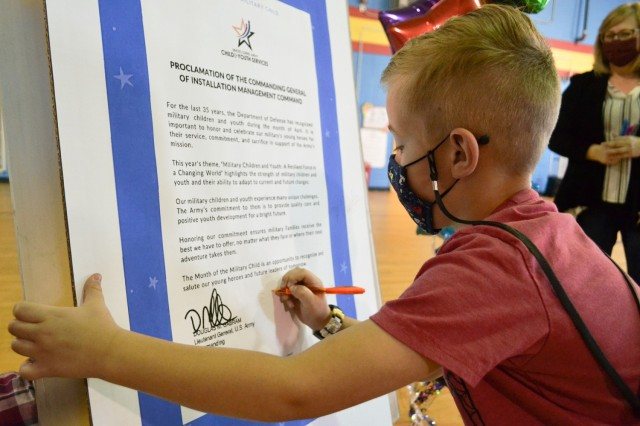 Fort Rucker Child and Youth Services celebrates Month of the Military Child