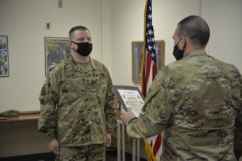GLWACH NCO promoted by former drill sergeant