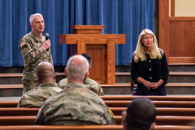 Fort Leonard Wood hosts spiritual readiness chaplaincy pilot