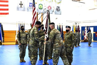 115th Field Hospital hosts change of command