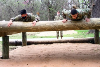 ROTC cadets train with basic combat unit at Fort Sill