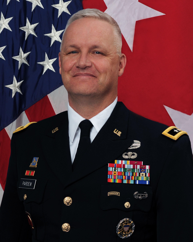Maj. Gen. Paul Pardew
