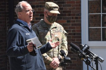 Rep. Guthrie visits Fort Knox, receives update on critical quality of life initiatives