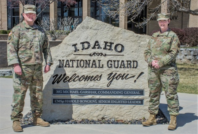"Maj. Christopher Lavelle and his younger sister, Master Sgt. Kerry Lavelle, are known on Gowen Field as ""the Lavelles."" The pair has served on base as full time technicians for several years and as traditional Guardsmen in the Idaho National Guard for nearly 20 years."