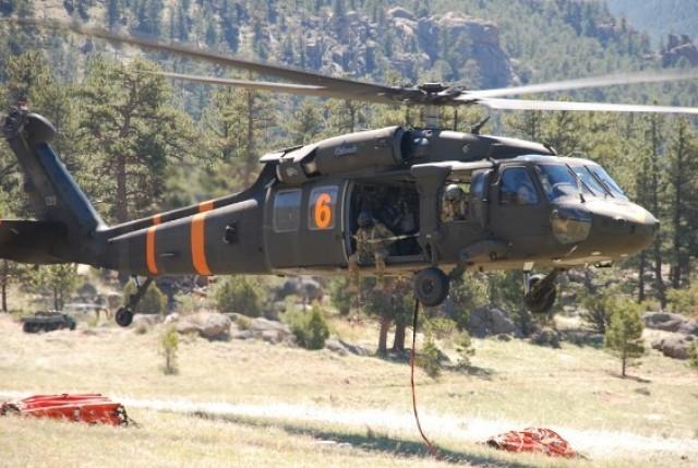 Colorado National Guard trains for fire season