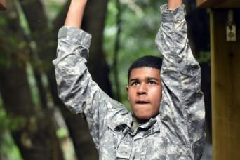Zama Middle High School JROTC holds Cadet Leadership Challenge