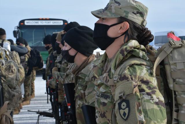 California Guard security force begins Alaska mission