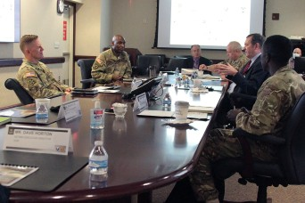 U.K. and U.S. Army Logistics leadership meet and exchange ideas