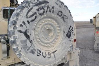 SOM Testing Gets Wheels