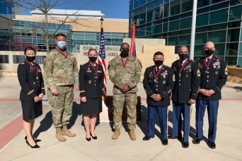 Seven CRDAMC team members inducted into the Order of Military Medical Merit