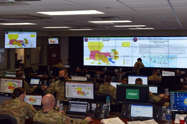 Louisiana Guard trains with partners on disaster response