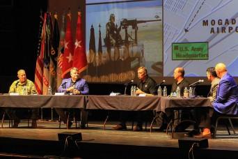 Veterans speak on Somali Civil War during Mission Command Conference
