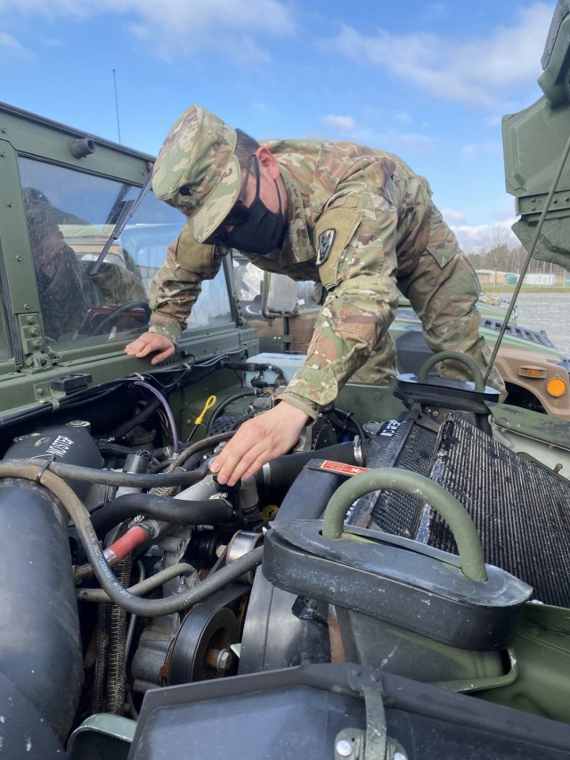 Fort Bragg signal unit issued APS vehicles, equipment for DEFENDER-Europe 21