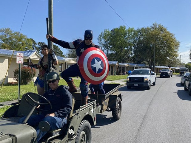 Installation honors military children with parade
