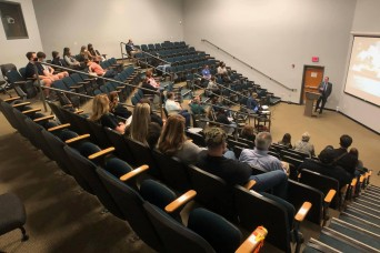 Installation hosts community leaders during Combined Leadership Tour