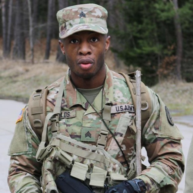 A group of Soldiers from Army dental clinics across Dental Health Command-Europe competed in the 2021 Best Warrior Competition held Mar. 22-26 in the Ansbach Training Area. (Pictured here: Sgt. Jamal Fields, Vicenza Army Dental Clinic, winner of the Non-Commissioned Officer of the Year category)