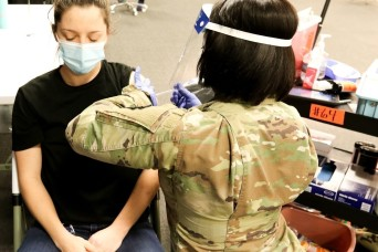 Hundreds of Pennsylvania Guard members support vaccinations