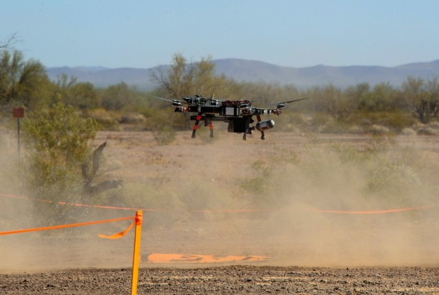 The Joint Counter-Small Unmanned Aircraft Systems Office is scheduled to conduct a second system demonstration in September after a successful review of three interceptors in April 2021 at Yuma Proving Ground, Ariz. The JCO, in collaboration with the Air Force and the Army Rapid Capabilities and Critical Technologies Office, focused on low-collateral effects interceptors to counter a growing unmanned system threat.