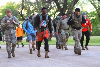 Fort Sill Soldiers ruck in virtual Bataan Memorial Death March