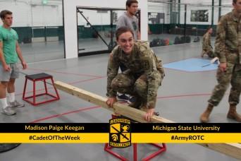 Cadet of the Week: Madison Paige Keegan