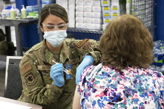 Oregon National Guard supports COVID vaccinations statewide