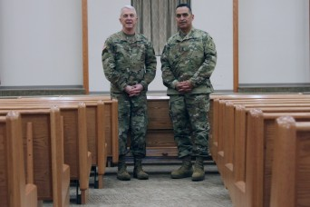 Chief of Chaplains visits Fort Sill