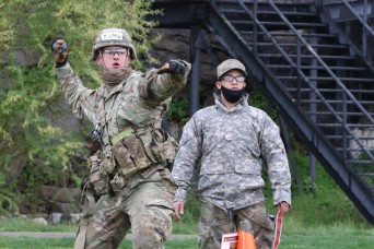 ROTC Cadets compete in 2021 Sandhurst Military Skills competition