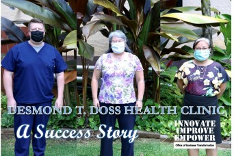 Desmond T.  Doss Health Clinic - A Success Story: Striving to Become a High Reliability Organization During the COVID-19 Pandemic