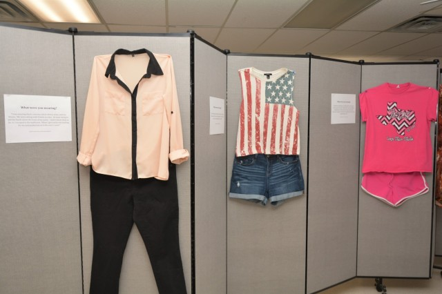 """""""What Were You Wearing?"""" exhibit aims to stop self-blame amongst sexual violence survivors"""