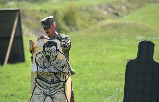 34th MP Detachment Soldiers go head-to-head in first 'Top Cop' competition