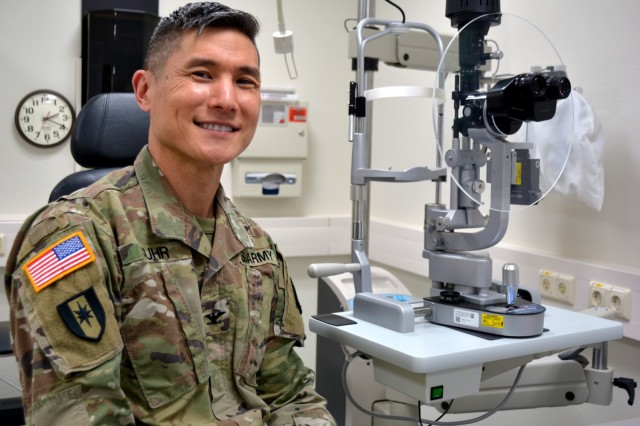 Col. Abraham Suhr, an ophthalmologist and Deputy Commander for Surgical Services at Landstuhl Regional Medical Center, is a second generation Korean American.  May is recognized as Asian American Pacific Islander Heritage Month.  Asian American Pacific Islander Heritage Month stands as a reminder of the strength the Army has gained and will gain, through a high-quality diverse all-volunteer force.