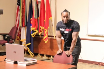 Army veteran shares poetry, advocacy message during Sexual Assault Awareness and Prevention Month