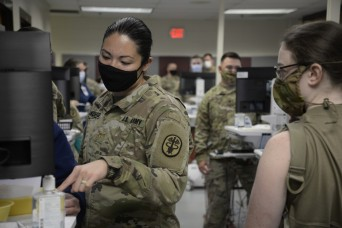 Army MTF tests medical record system against TRADOC's trainee mission