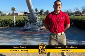 Cadet of the Week: Joshua Adams