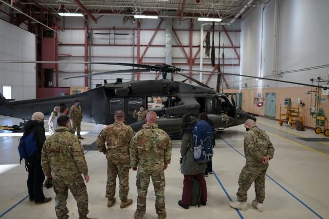 Alaska Army National Guard deploys Black Hawk for spring floods season