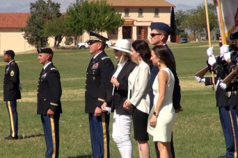 Fort Report: Retirement ceremony at  Fort Huachuca