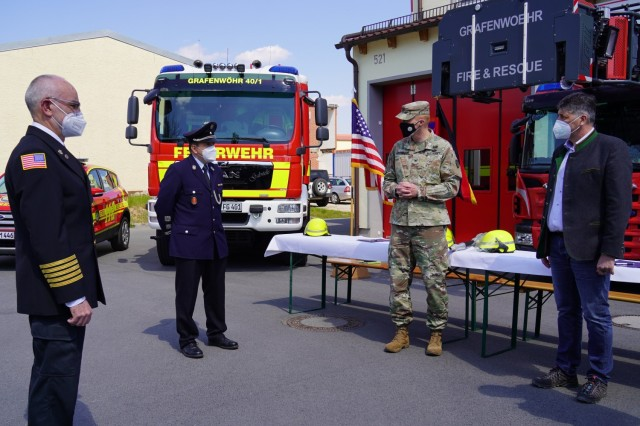 USAG Bavaria Fire Department Signing Ceremony