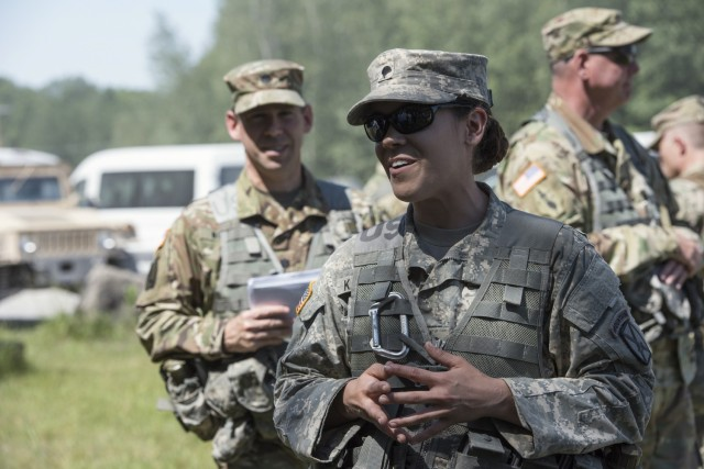 Vermont Guard is 1st OK'd to recruit women into all units