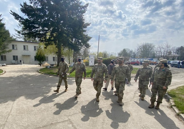 405th AFSB, 50th RSG discuss base support operations in Poland
